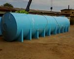 Накопительная бочка 45 м3 для питьевой воды